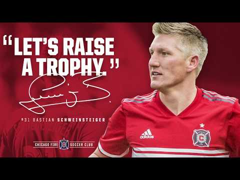 Video: Bastian Schweinsteiger to Rejoin the Chicago Fire in 2019