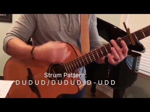 King of My Heart by John and Sarah McMillan Guitar Tutorial and chords
