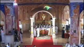Holy Qurbono celebrated by Cyril Baselious Catholicous Bava (Part1)