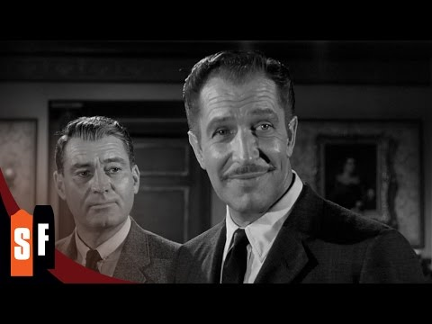 House On Haunted Hill - Vincent Price (1/1) Haunted House Party Rules (1959) HD