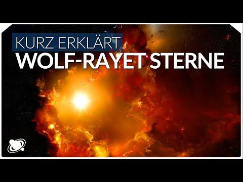 Wolf Rayet Sterne   Einfach erklärt