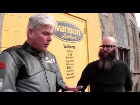 Moto Pickers at Vanson Leathers