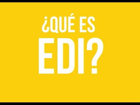 Qué es EDI (видео)