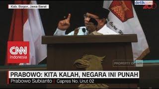 Video Prabowo: Kita Kalah, Negara Ini Punah MP3, 3GP, MP4, WEBM, AVI, FLV Desember 2018