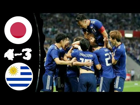 Japan Vs Uruguay 4-3 All Goals & Extended Highlights 16-10-2018