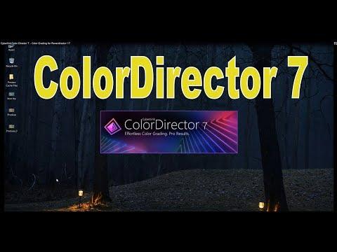 Cyberlink Color Director 7 - Color Grading for Powerdirector 17