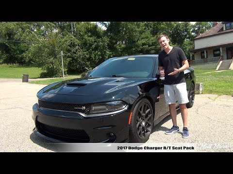Review: 2017 Dodge Charger R/T Scat Pack - The Angry Villain (видео)