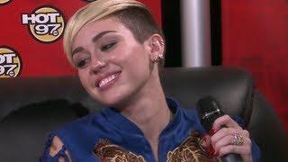 "Miley Cyrus,""Im more than a twerker.."" & ""my Mom's weave is..."""