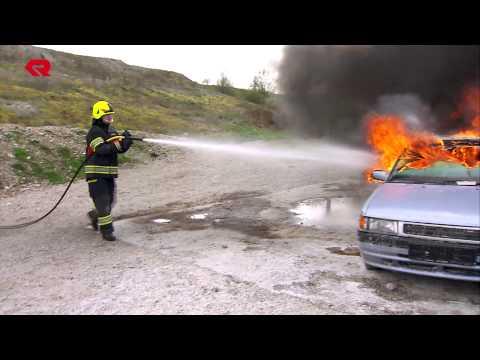 Rosenbauer CAFS extinguishing technology