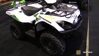 6. 2018 Kawasaki Brute Force 750 ATV - Walkaround - 2017 Toronto ATV Show