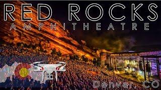 DJI Phantom 3 Standard drone footage of Denver, Red Rocks, and Ken Carly Valley.