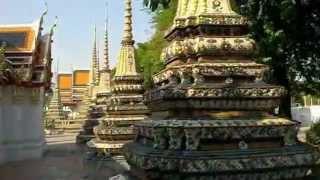 タイの寺院ワットポー