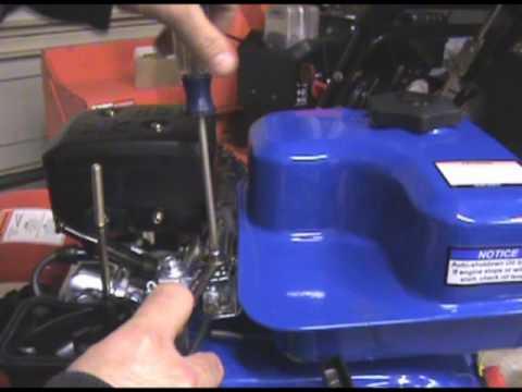 Doodle Beast Minibike 6.5 HP Motor Change Part 1