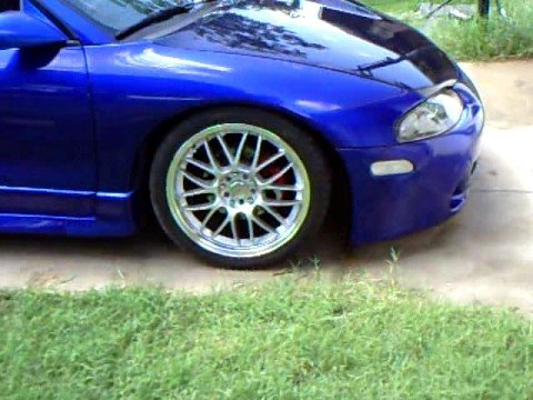 GSX - video of my 2g mitsubishi eclipse gsx idling on bc 280 duration cams, built head ss valves g4cs 2.4l stroker motor; fp hta 30r garrett turbo awd mitsubishi e...