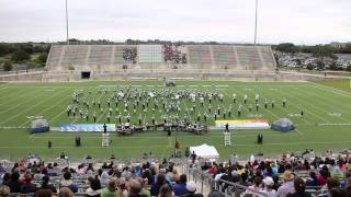 Mcneil (TX) United States  city pictures gallery : Texas Marching Classic 2014 - McNeil Maverick Band Preliminary Performance