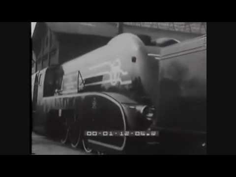 Prezentacja lokomotywy PM-36 - Paryż 1937