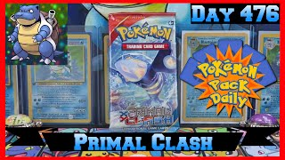 Pokemon Pack Daily Primal Clash Booster Opening Day 476 - Featuring Papa Blastoise by ThePokeCapital