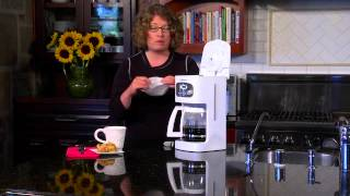 12 Cup Programmable Coffeemaker Demo Video Icon