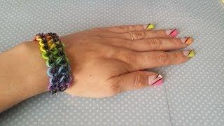 [ TUTO ] bracelet élastique double infinity