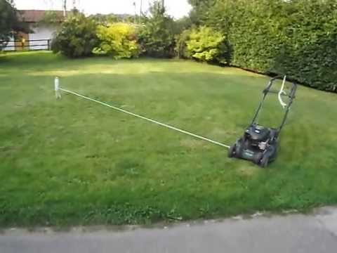 The best way to mow the lawn and do nothing