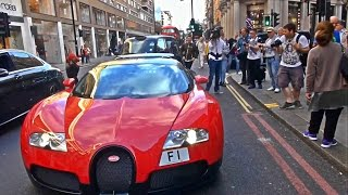The amount of attention a Bugatti Veyron gets when it shows up in Central London is like no other car !
