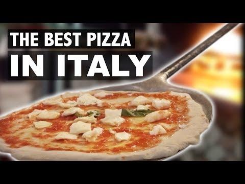 WE FOUND THE BEST PIZZA IN ITALY