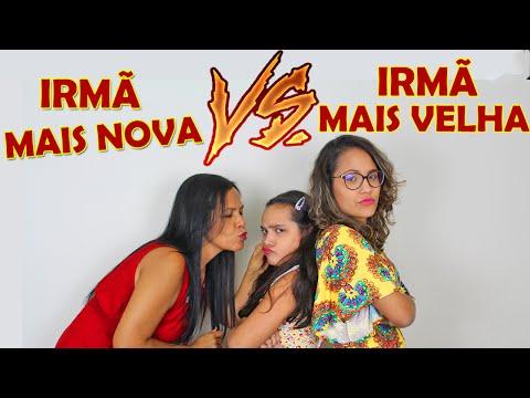 IRMÃ MAIS NOVA VS. IRMÃ MAIS VELHA! - JULIANA BALTAR (видео)