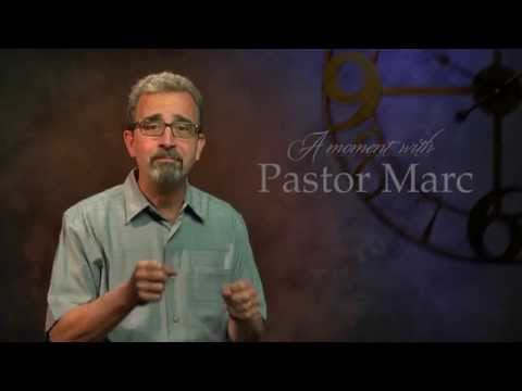"A Moment with Pastor Marc #7<br /><strong>""Facing Criticism""</strong>"