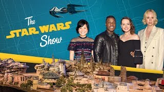 In this installment of The Star Wars Show, we have the exclusive first look at Kylo Ren's new ship in Star Wars: The Last Jedi, go inside the Star Wars-themed lands coming to Disney Parks called Star Wars: Galaxy's Edge, talk with the Star Wars: The Last Jedi cast at D23, and much more!Watch more of The Star Wars Show at https://www.youtube.com/playlist?list=PL148kCvXk8pBjG-JOhlIU6rWzLyA2O2anVisit Star Wars at http://www.starwars.comSubscribe to Star Wars on YouTube at http://www.youtube.com/starwarsLike Star Wars on Facebook at http://www.facebook.com/starwarsFollow Star Wars on Twitter at http://www.twitter.com/starwarsFollow Star Wars on Instagram at http://www.instagram.com/starwarsFollow Star Wars on Tumblr at http://starwars.tumblr.com/