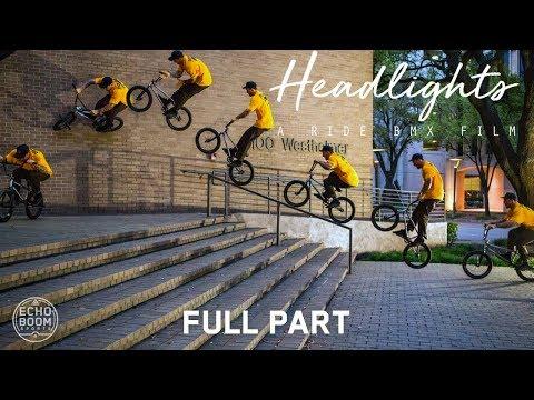 Headlights: A Ride BMX Film - Full Part feat. Broc Raiford