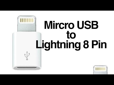 Micro USB to Lightning 8 Pin Charger Converter Adapter for iPhone iPod Review