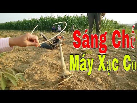 Sáng Chế Của Anh Nông Dân Đồng Hới Phát Minh Làm Cỏ Sắn Sạch Tưng