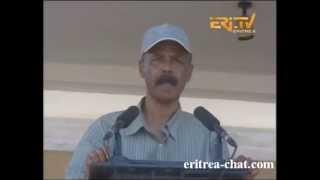 Eritrean PIA Speech at 26 Sur - Sawa - Eritrea 2013