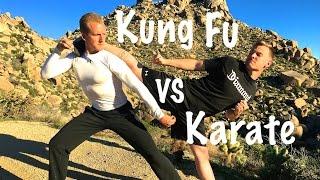 Kung Fu vs Karate