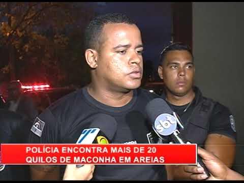 [RONDA GERAL] Polícia encontra mais de 20 quilos de maconha em Areias