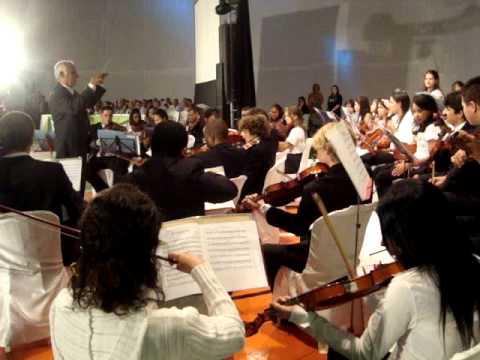 Orquestra Esc. Munic. de Florianópolis _ 6ª Noite Cultural em Brunópolis/SC (24/03/12)