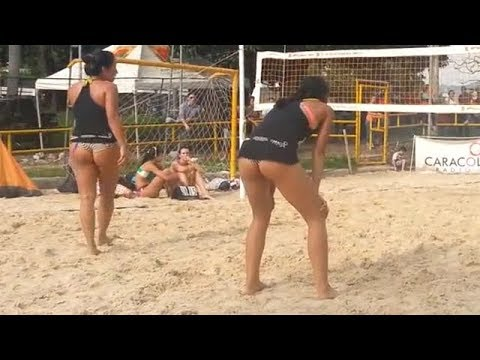 Colombian Women's Beach Volleyball