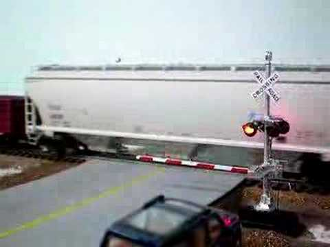 model railroad crossing gates