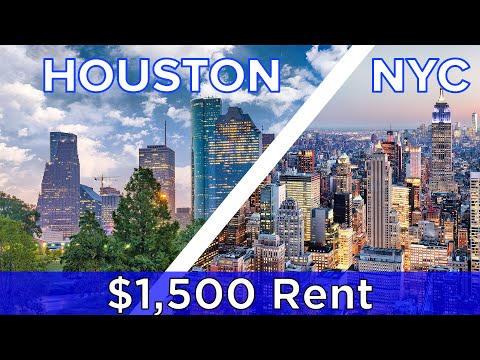 $1,500 Rent: New York Vs. Houston