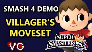 VGBC doing a hands-on demonstration of Villager's entire moveset. His tree move is way more versatile than you might think.