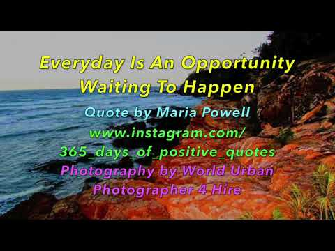 Positive quotes - 365 Days Of  Motivational Inspirational Daily Quotes -  Day 43 - 12 Feb 2018 - YouTube Video