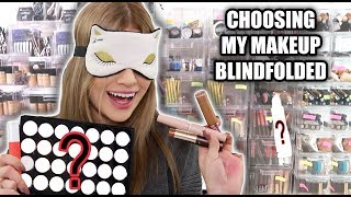 Video Choosing FULL FACE of Makeup BLINDFOLDED... FAIL MP3, 3GP, MP4, WEBM, AVI, FLV Juli 2018