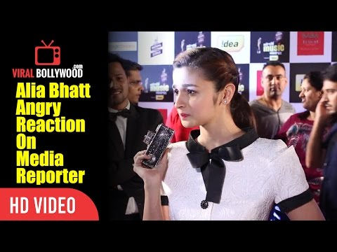 Alia Bhatt Got Angry On Media Reporter | What Are You Doing Tommorow