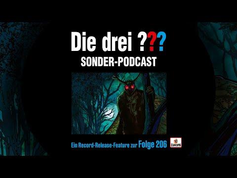 Die drei ??? - Record Release Feature Folge 206   Sonder Podcast