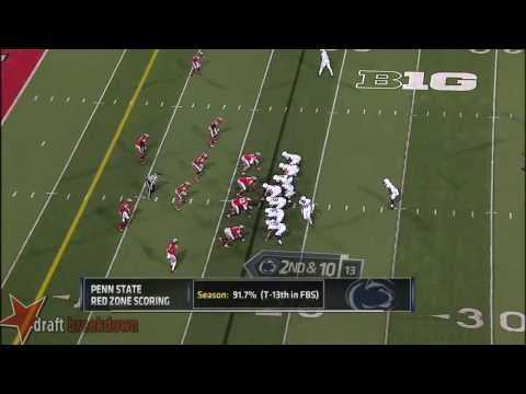 Bradley Roby vs Penn St. 2013 video.