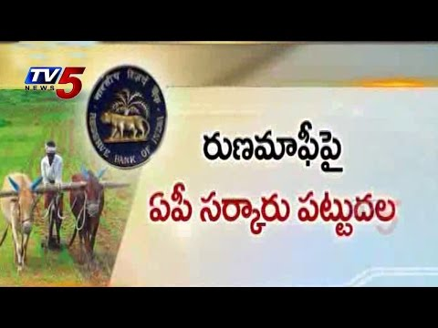 AP Govt Perseverance On Farm Loan Waiver : TV5 News