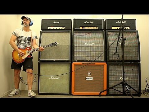 MORTAL LOUDNESS? 3 Marshall 100w Full Stacks Played at the SAME TIME!