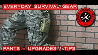 We want to present and describe our choice of every day survival gear in this case pants. You will also see some upgrades we came up with, and can learn some helpful additional tips as well. If you are interested about any of the presented items leave a comment (at YT), and we will post a link.NOTE: This is not a promotional or an advertisement video!------------------------------------------------------------------------------------------------------FOR MUCH MORE VISIT:WEBSITE: http://www.modernsurvivaltactics.comSTORE: http://www.store.modernsurvivaltactics.comGOOGLE +: ttps://www.google.com/+MODERNSURVIVALTACTICS
