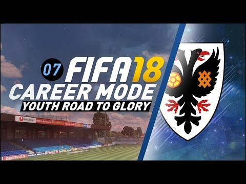 FIFA 18 Youth Career Mode RTG S4 Ep7 - SEVEN WAY TITLE FIGHT!! (видео)