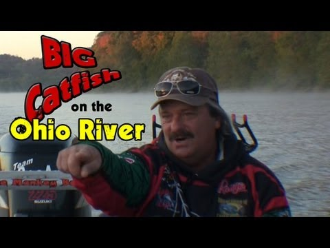 Lost Footage:Big Catfish Caught On The Ohio River